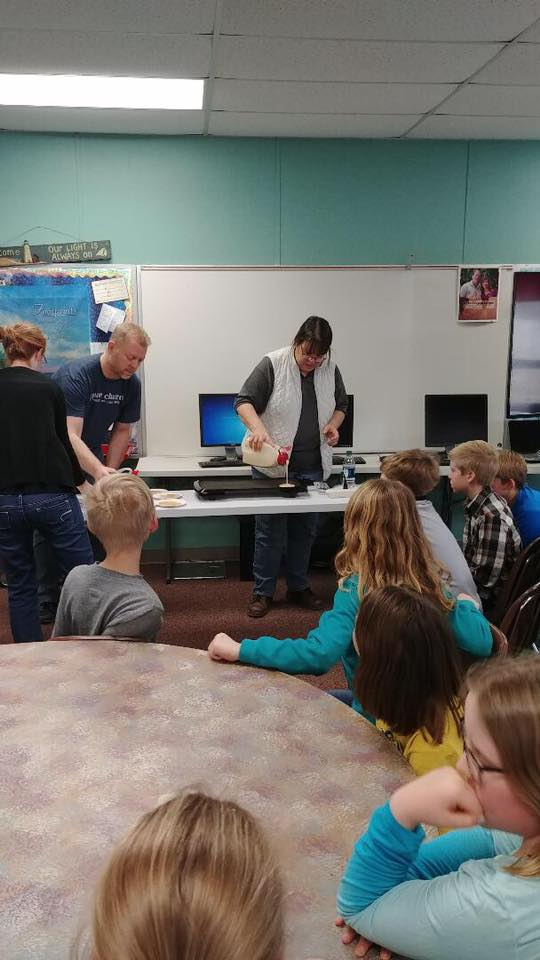 STEM & OSU Extension/Colonial Pancake Lesson